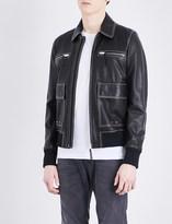 Diesel L-boom leather jacket