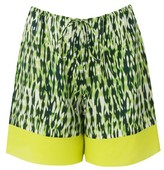 Amanda Wakeley Willis Silk Ripple Shorts