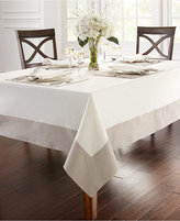"""Waterford Half and Half 70"""" x 84"""" Tablecloth"""