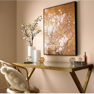 Graham & Brown Oriental Blossom Hand Painted Framed Canvas Print