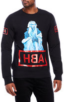 Hood by Air Graphic Crew Neck Sweatshirt