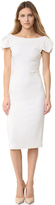 Antonio Berardi Cap Sleeve Dress