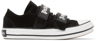 Palm Angels Black Vulcanized Logo Sneakers