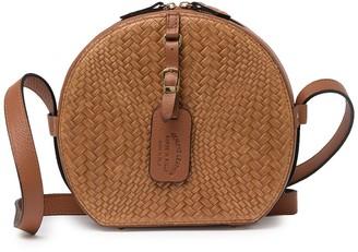 Persaman New York Roberta Woven Leather Crossbody Bag