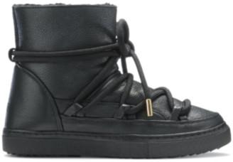 INUIKII Full Leather Sneaker Black