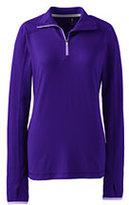 Classic Women's Active Half-zip Pullover-Black Space Dye