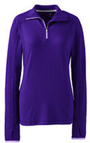 Classic Women's Active Half-zip Pullover-Deep Sea Dot