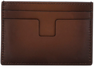 Tom Ford Men's Classic Leather Card Holder