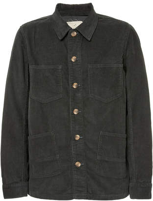 Tempus Now Loco Cotton-Chambray Jacket