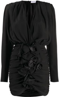 Magda Butrym Burgos ruched mini dress