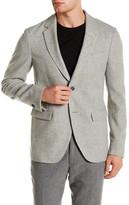 Gant Gray Two Button Notch Lapel Wool Blend R. Winter Blazer