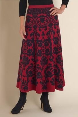 Soft Surroundings Petites Jacobean Skirt