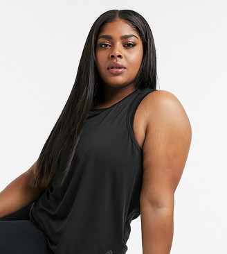 ASOS 4505 Curve loose tank with back strap detail