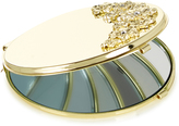 Monsoon Gold Flower Compact Mirror