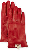 Portolano Leather Lock-Cuff Gloves