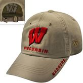 Top of the World Adult Wisconsin Badgers Undefeated Adjustable Cap