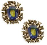 Gerard Yosca Geometric Stud Earrings