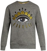 Kenzo Eye-embroidered Cotton Sweatshirt