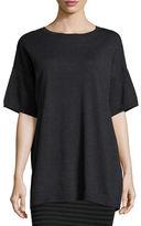 Eileen Fisher Merino Half-Sleeve Wool Tunic