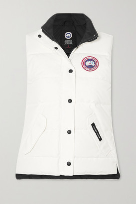 Canada Goose Freestyle Quilted Shell Down Vest - White