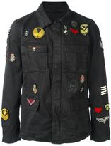 John Varvatos military style jacket