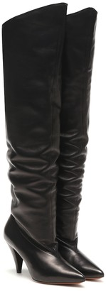 Givenchy Ruched leather boots