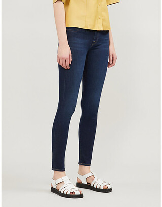 7 For All Mankind Bair super-skinny mid-rise jeans