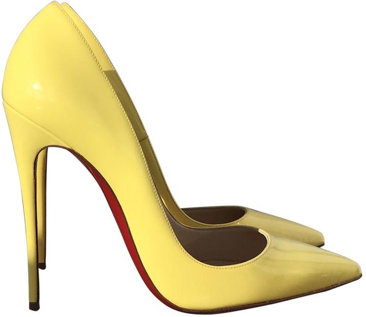 Christian Louboutin So Kate Yellow