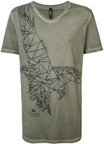 Tom Rebl bird embroidered T-shirt - men - Cotton - S