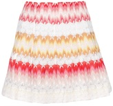 Missoni knitted skirt