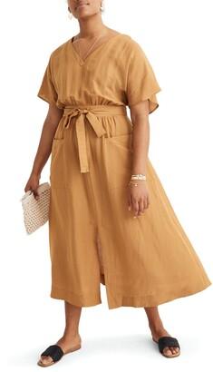 Madewell Sleeveless Yoke Minidress