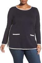 Nic+Zoe Modern Pocket Blouse (Plus Size)