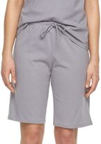 Jockey Women's Pajamas: Solid Bermuda Pajama Shorts