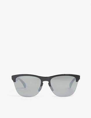 Oakley OO9374 Frogskins Lite cat-eye frame sunglasses