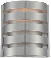 Lite Source Macrae 1 Light Wall Sconce - Aluminum Finish