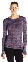 Cuddl Duds Women's Flexfit Long Sleeve Crew Neck Top