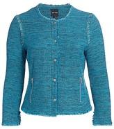 Thumbnail for your product : NIC+ZOE, Plus Size You Deserve It Tweet Jacket