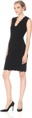 French Connection Women's Whisper Light Stretch Solid Mini Dress