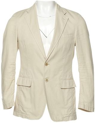 Prada Ecru Cotton Jackets