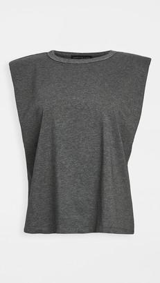 Endless Rose Padded Shoulder T-Shirt