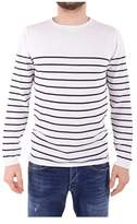 Daniele Fiesoli Men's White Cotton Sweatshirt.