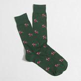 J.Crew Factory Dachshund socks