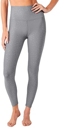 Beyond Yoga Alloy Sparkle High-Waisted Midi Leggings (Black Gunmetal Sparkle) Women's Casual Pants