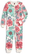 Tea Collection Infant Girl's Ayla Fitted One-Piece Pajamas