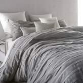 DKNY Loft Stripe Twin Duvet Cover in Grey
