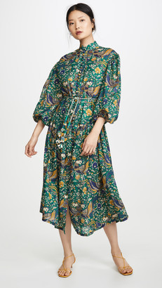 Zimmermann Edie Drop Waist Long Dress