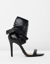 Schutz Lily Ankle Strap Heels