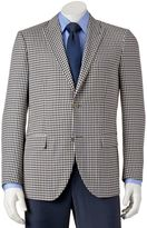 Savile Row Men's Modern-Fit Checked Sport Coat