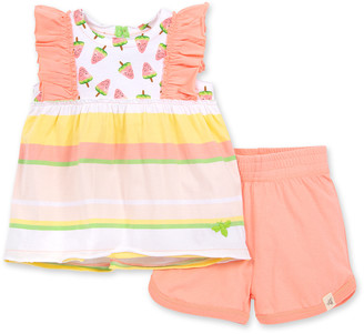 Burt's Bees Watermelon Popsicles Organic Baby Tank Top & Shorts Set