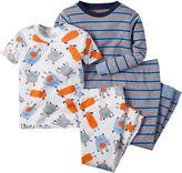 Carter's Monster 4-pc. Pajama Set - Baby Boys newborn-24m